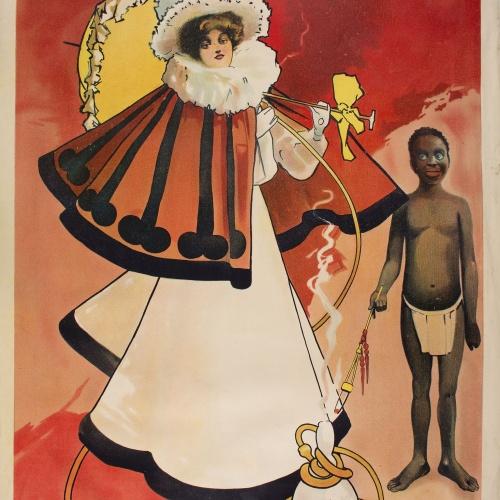 John Hassall - The Yashmak - 1901 o anterior