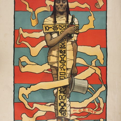 John Hassall - The Mummy - Circa 1895