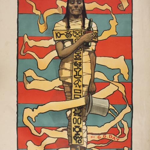 John Hassall - The Mummy - Cap a 1895