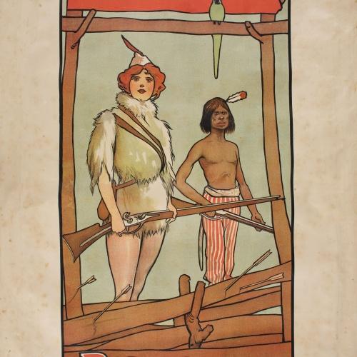 John Hassall - Robinson Crusoe - Anterior a 1903