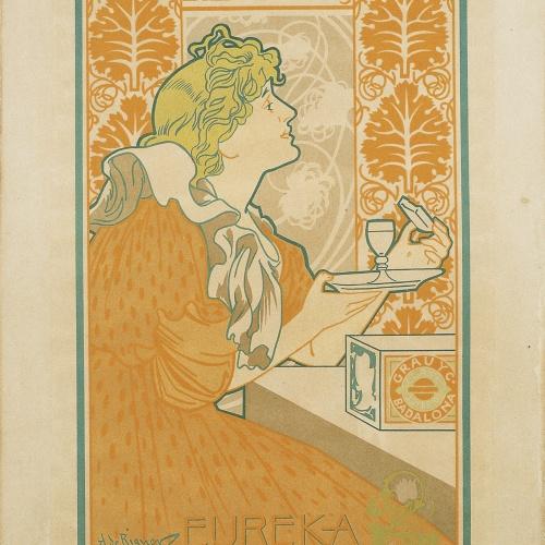 Alexandre de Riquer - Grau y Cia Fabricantes de Galletas y Bizcochos - 1897