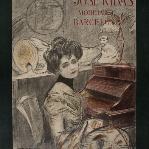 Ramon Casas - José Ribas mobiliario Barcelona - Circa 1901-1902