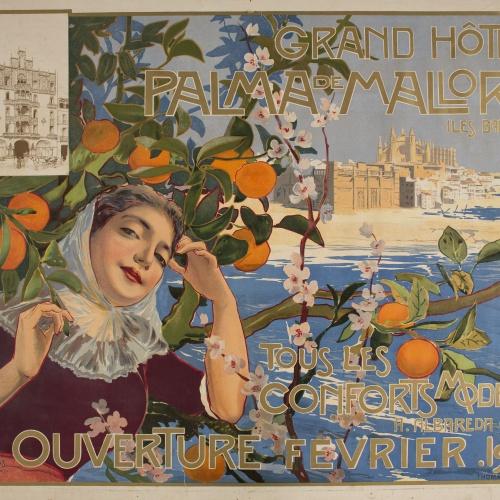 Joan Llaverias - Grand Hôtel. Palma de Mallorca - 1901