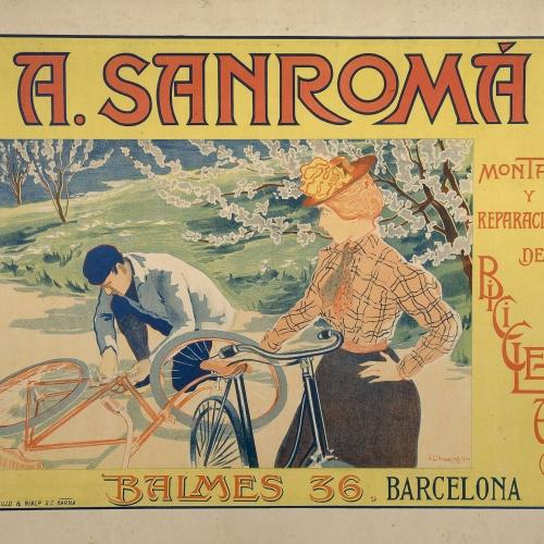 Joan Llaverias - A. Sanromá. Montage y Reparaciones de Bicicletas - 1900