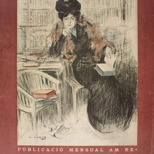 Ramon Casas - Pèl & Ploma - 1901