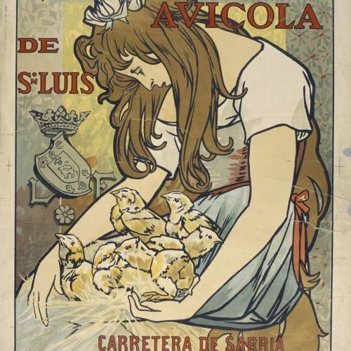 Alexandre de Riquer - Granja Avicola de Sn. Luis - 1896