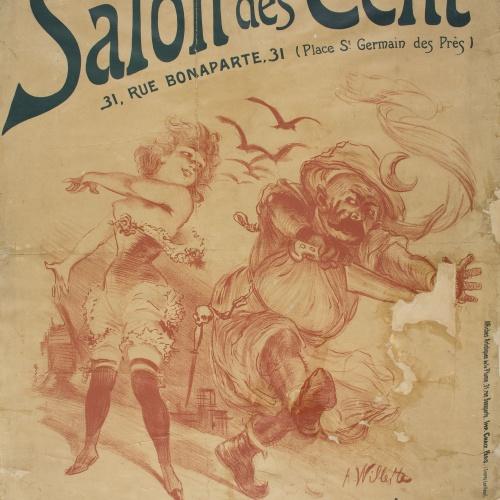 Adolphe Léon Willette - Salon des Cent - 1897