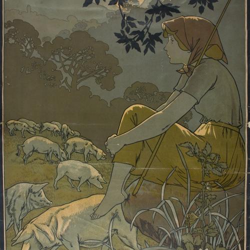 Alexandre de Riquer - [Juan Torra. Fábrica de salchichón] - 1899