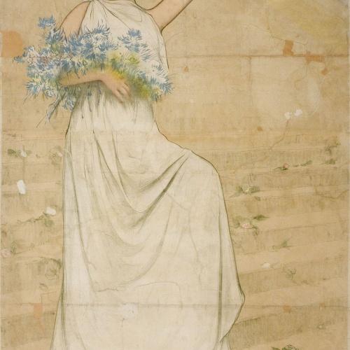 Ramon Casas - Jochs Florals de Barcelona. Festes del cinquantenari - 1908