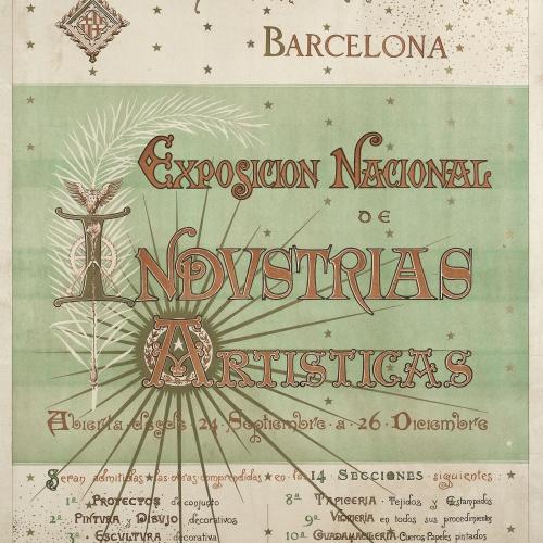 Josep Lluís Pellicer - Exposición Nacional de Industrias Artísticas - 1892