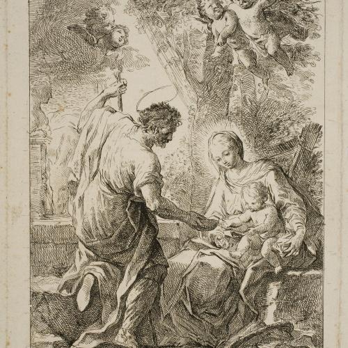 Mariano Salvador Maella - Descans en la Fugida a Egipte - Darrer terç del segle XVIII