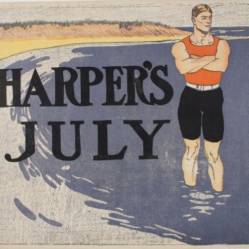 Edward Penfield - Harper's July - 1899