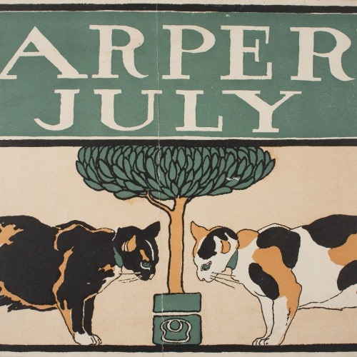 Edward Penfield - Harper's July - 1898