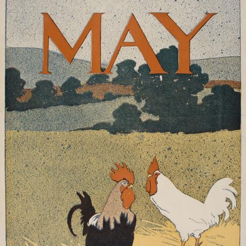 Edward Penfield - Harper's May - 1898