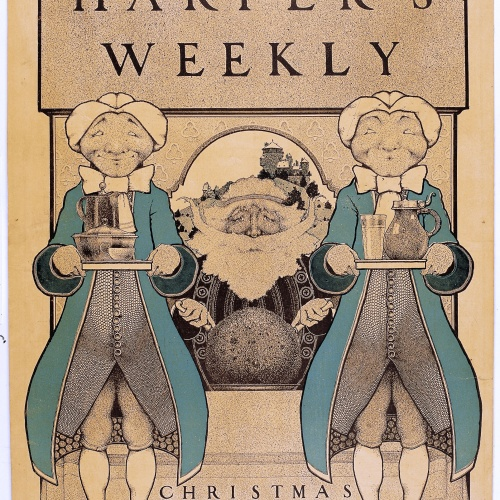 Maxfield Parrish - Harper's Weekly. Christmas - 1896