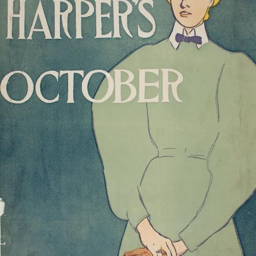 Edward Penfield - Harper's October - 1896