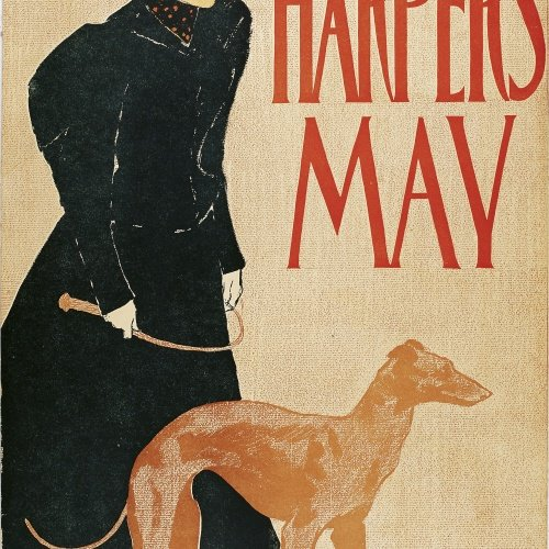 Edward Penfield - Harper's May - 1897