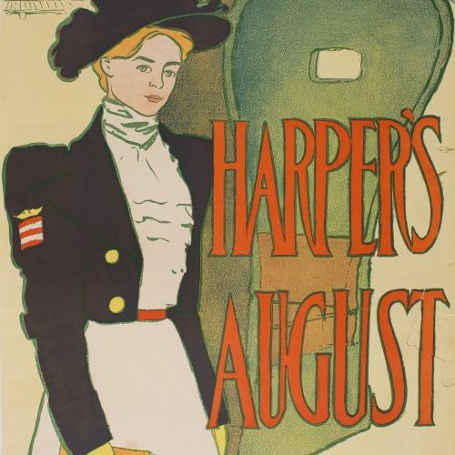 Edward Penfield - Harper's August - 1897