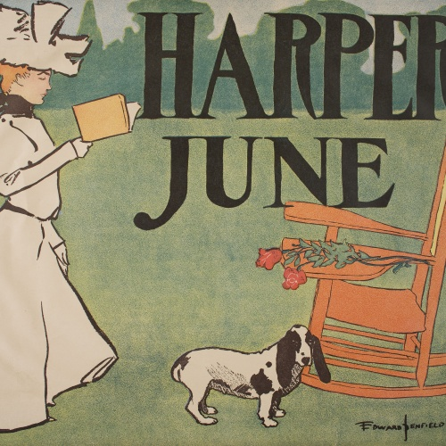 Edward Penfield - Harper's June - 1897