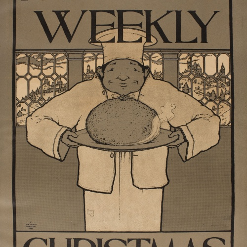 Maxfield Parrish - Harper's Weekly. Christmas - 1895
