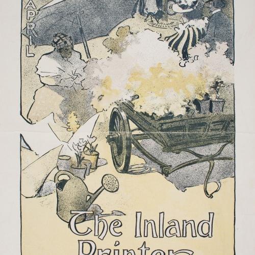 Joseph Christian Leyendecker - Inland Printer. April - 1897