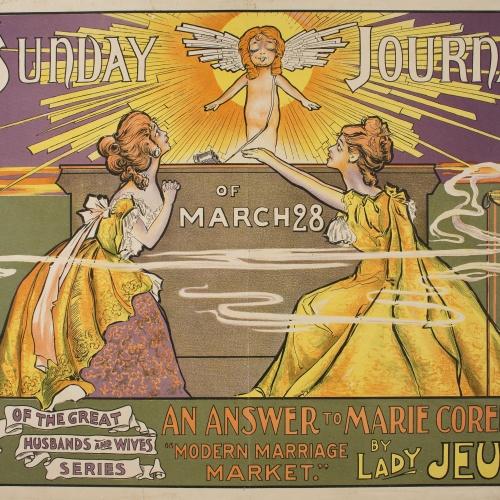 Frank Arthur Nankivell - The Sunday Journal of March - 1897