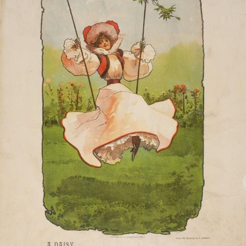 John Hassall - [A Daisy] - Cap a 1893-1902