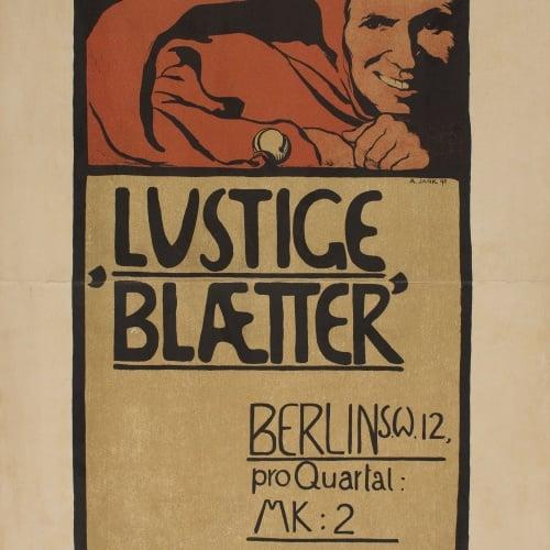 Angelo Jank - Lustige Blætter - 1898
