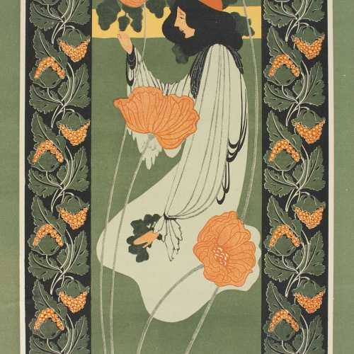 William Henry Bradley - Whiting's Standard Papers (The Acorns) - 1895 o posterior