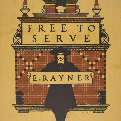 Maxfield Parrish - Free to Serve - 1897