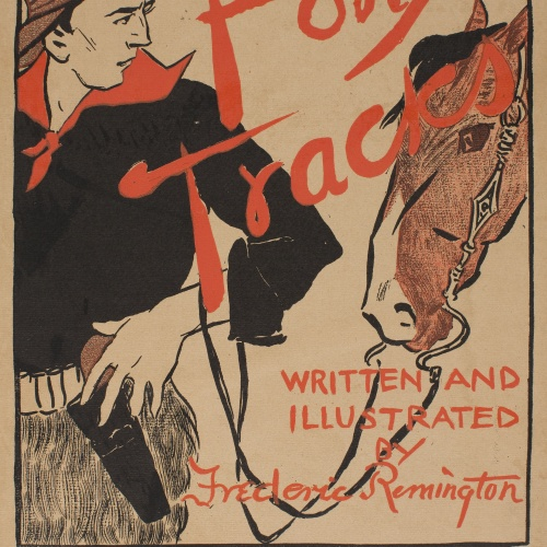 Edward Penfield - Pony Tracks - 1895