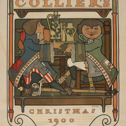 William Henry Bradley - Collier's. Christmas 1900 - 1900