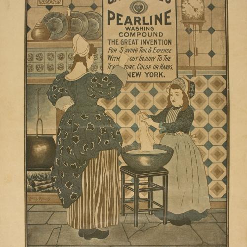 Louis John Rhead - The Modern Cleanser - 1896