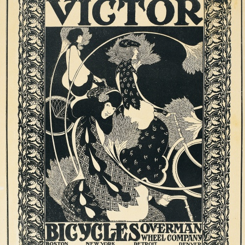 William Henry Bradley - Victor Bicycles - Hacia 1896