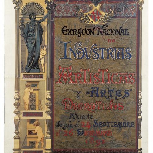 Josep Lluís Pellicer - Exposicion Nacional de Industrias Artisticas y Artes Decorativas - 1892