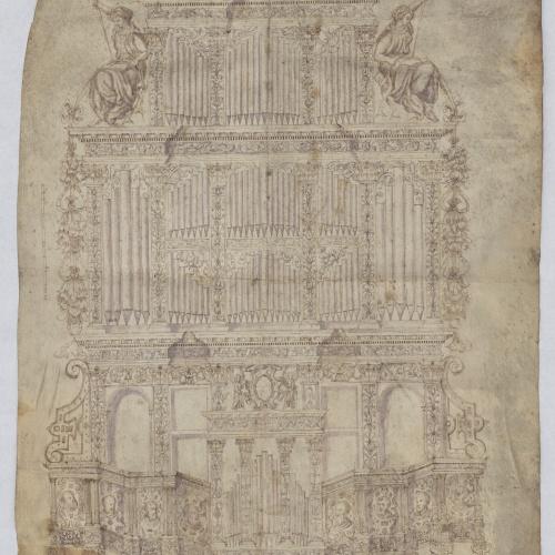 Anònim - Projecte d'orgue monumental - 1600-1630