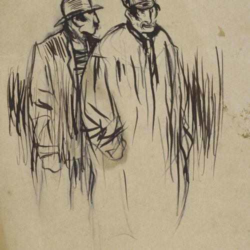 Ramon Casas - Parisian characters - 1892