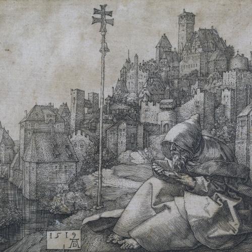 Albrecht Dürer - Sant Antoni - 1519