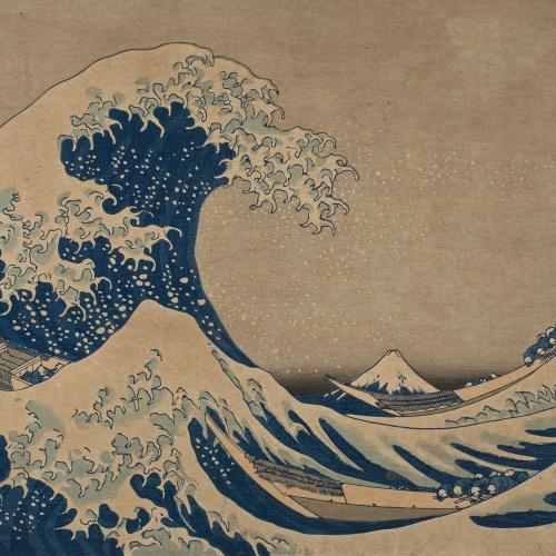 Katsushika Hokusai - The Great Wave of Kanagawa - Circa 1832