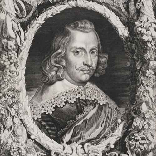 Pieter van Sompel - Retrat del Cardenal-Infant Ferran d'Àustria - Cap a 1650