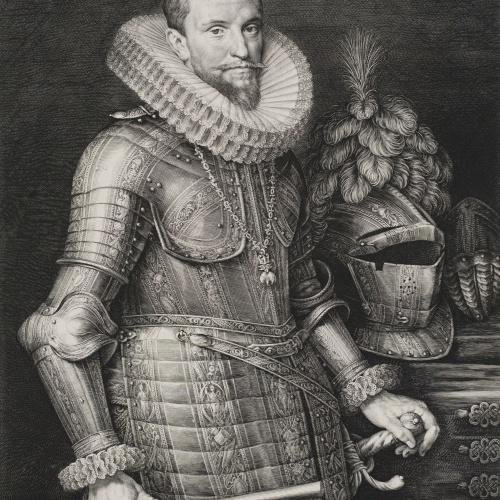 Jan Muller - Retrat d'Ambrosio Spinola - Cap a 1615