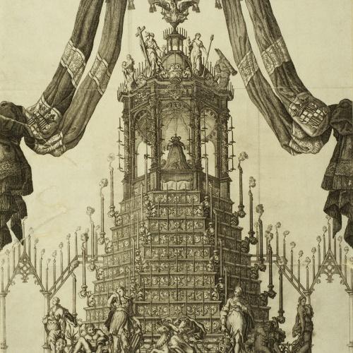 Francesc Gazan - Túmul de Carles II - 1701