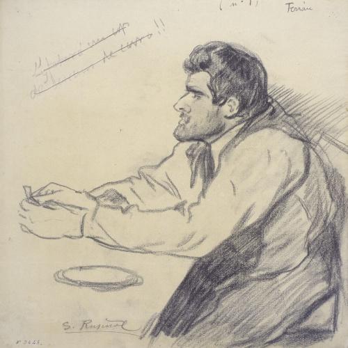 Santiago Rusiñol - Retrat de Pere Ferran - 1895