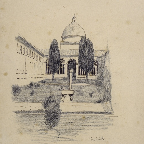 Santiago Rusiñol - Pisa Cemetery - 1894