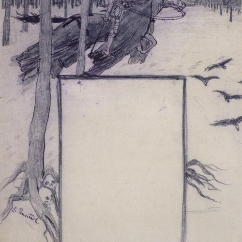 Santiago Rusiñol - Fantasia - Cap a 1897
