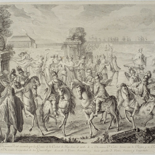 A.J. Defehrt - Cortège of Mercury - 1764