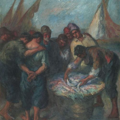 Ricard Canals - Peixaters - Cap a 1915