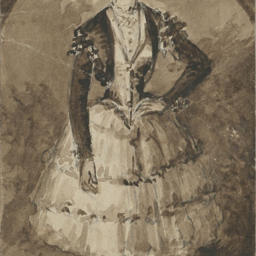 Ricard Canals - Portrait of Mrs - Circa 1910