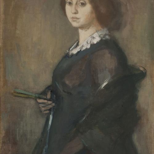 Ricard Canals - Retrat de la senyora Canals - Cap a 1913