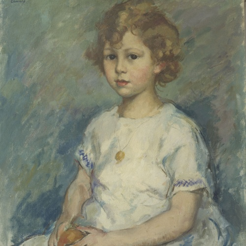 Ricard Canals - Portrait of a Girl - Circa 1920